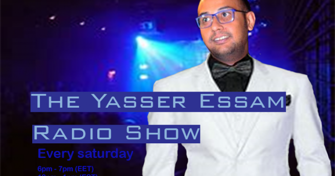 Yasser Essam Saturday 12 – 1 pm EST