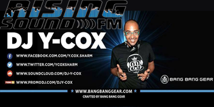 DJ Y-Cox Saturday 12 – 1 pm EST